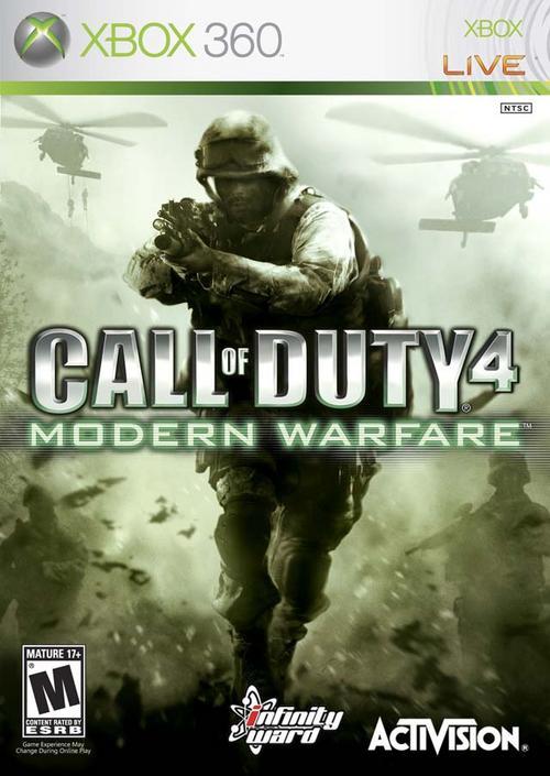 Call Of Duty 4 Modern Warfare (2007) X360 [Region Free]