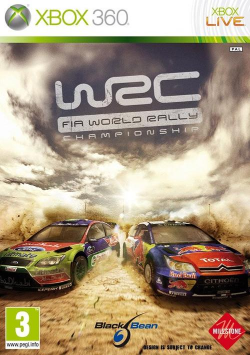 WRC FIA World Rally Championship-PAL-XBOX360-DAGGER