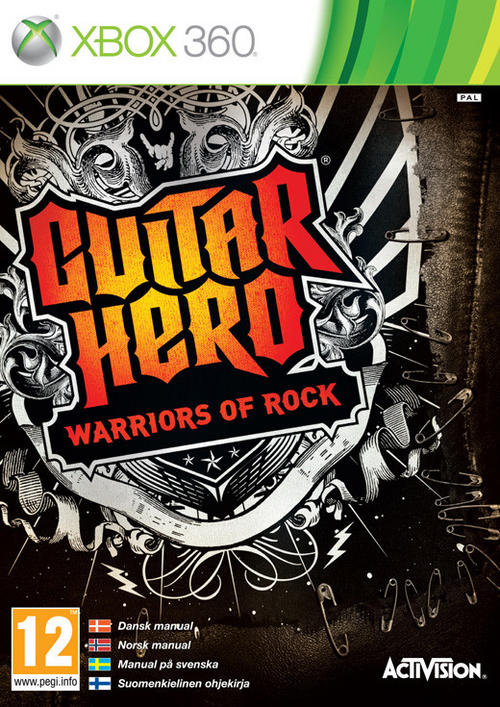 Guitar Hero 6 Warriors of Rock XBOX360-MARVEL