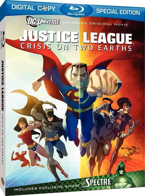 Justice League Crisis on Two Earths (2010) 1080p AC3 Blu-ray PS3-TEAM