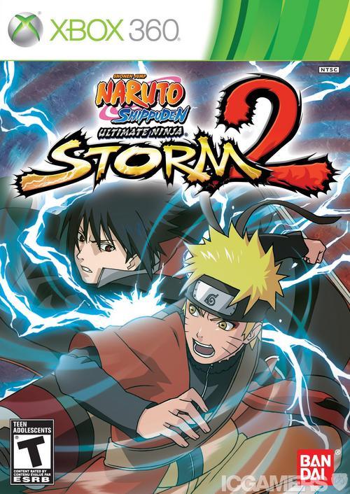 Naruto Ultimate Ninja Storm 2 PAL XBOX360-STRANGE